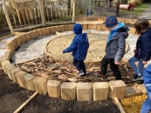 zahrada děti